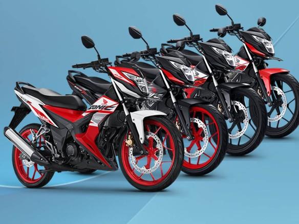 Pilihan warna Honda Sonic 150R