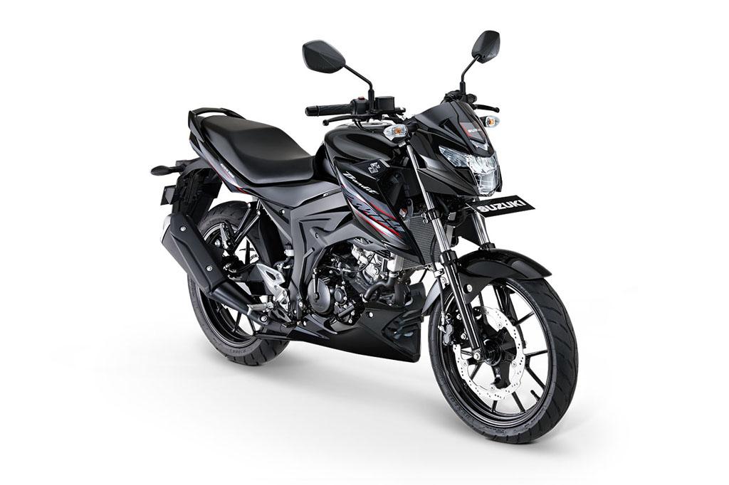 Suzuki GSX150 Bandit Warna Titanium Black