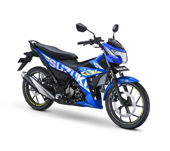 Suzuki Ssatria F150 Warna Metallic Triton Blue (MotoGP)